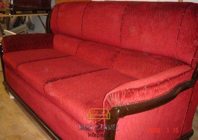 Piros garnitúra