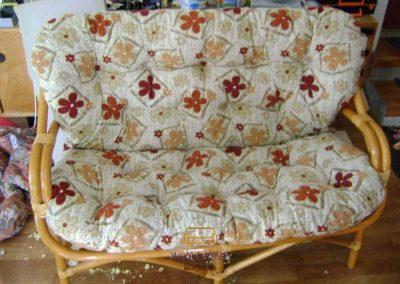 Rattan kanapé